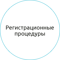 Регистрация, ликвидация и реорганизация коммерческих/некоммерческих организацией.